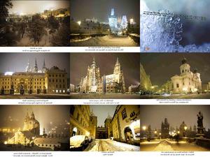 Prag im Schnee