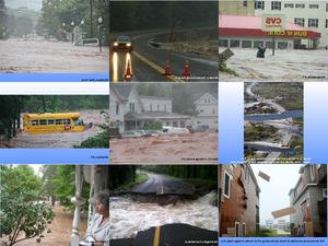 Bilder vom Hurrikan Irene