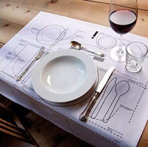 Tischset Kniggerich!