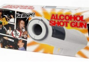 Alcohol Shot Gun!