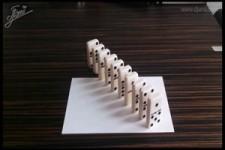 Neue Anamorphe Illusion-Wahrnehmungstäuschungen fürs Gehirn