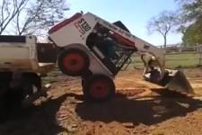 Bulldozer opladen