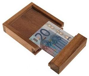 Holztresor für Geldgeschenke!