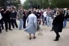 Auch das ältere Semester kann tanzen