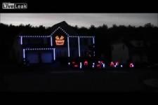 Halloween Light Show 2012