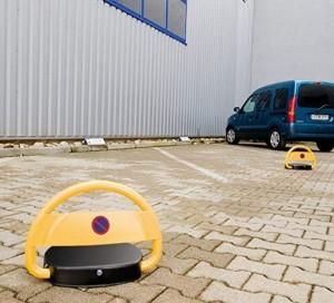 Automatische Solar-Parkplatzsperre mit Fernbedienung!