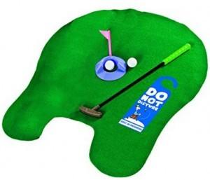 Das Golf-Set für die Toilette!