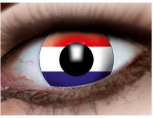farbige Kontaktlinsen mit deutscher Länderflagge!