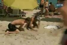 beach prank