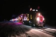 Kanadischer Weihnachtszug