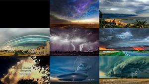 Gewitter und Stürme