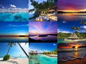 Bilder-Mix mit Urlaubsfeeling