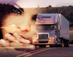 Trucks und schöne Frauengesichter