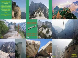 Der Berg Hua Shan in China