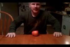 wie zerkleinere ich einen Apfel