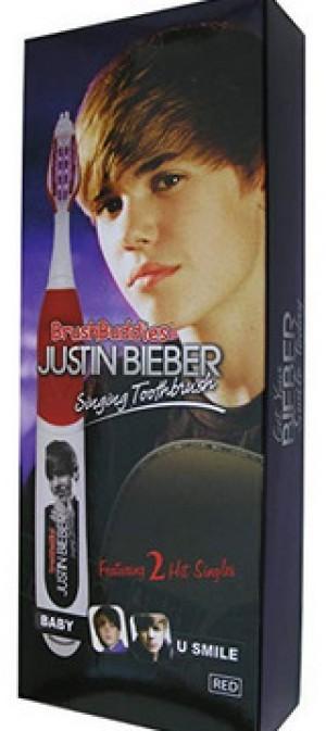 Zahnbürste mit Justin Bieber Musik!