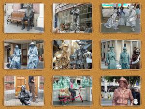 z Living Statue-