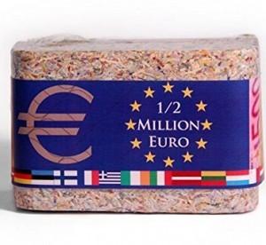 1/2 Million Euro-Barren (geschreddert aus garantiert...