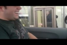 Spass im Drive in-engl