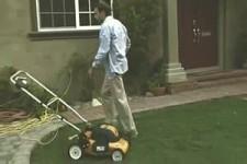 Nieuwe grasmaaier