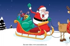 Adventstürchen 2014/ warum der Weihnachtsmann nicht loskommt