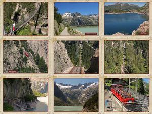 A044 Schweiz - Grimselpass - Bergbahn - Musik