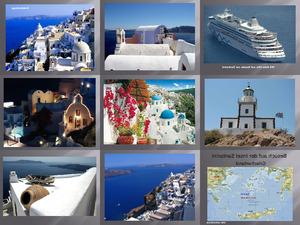 Bilder von der Insel Santorin (Griechenland)