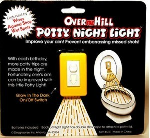 Toiletten-Nacht für Steh-Pinkler!