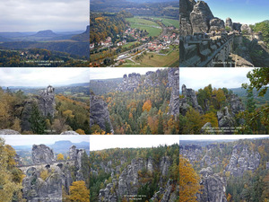 Herbstwanderung im Elbsandsteingebirge