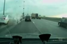 Motorrad-Unfall