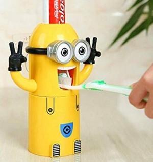 Minion-Zahnpastaspender!