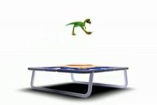 Trampolin Dino