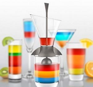 Tool für perfekt geschichtete Rainbow Cocktails!