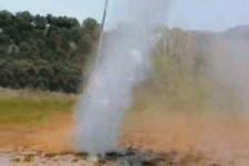 Rodeo con manguera de agua-inma