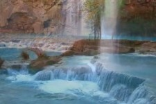 Havasupai Indian Waterfall Relaxation Video