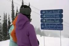 Komischer Name für eine Ski-Piste