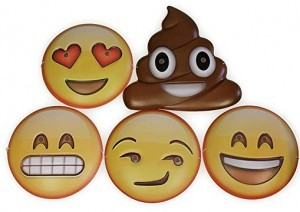 Emoticons-Masken!