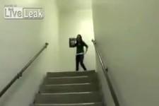 Optische Illusion einer Treppe