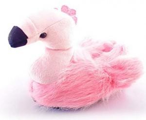 Monster-Hausschuhe Flamingo!