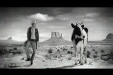 der Cowboy in der Milchwerbung
