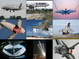 Flugzeuge, Flugzeuge und noch mal Flugzeuge
