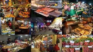 tailand bankok nacht markt.e.