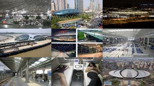 Schanghai Bahnhofs
