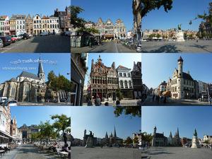 Gent voor gevel toeristen