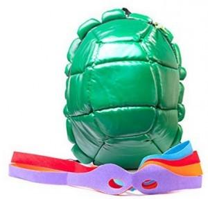 Turtles Rucksack inkl. Augenbinde!