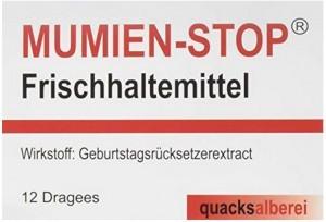 Mumien-Stop-Kaugummis!