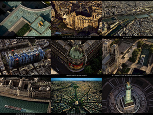 Luftaufnahmen von Paris
