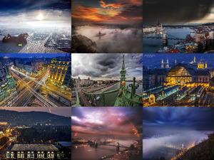 Budapest-von oben
