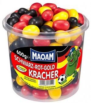 Maoam Schwarz-Rot-Gold-Kracher!