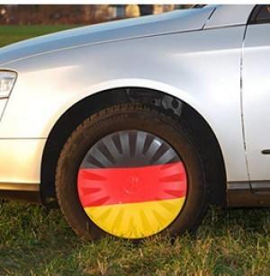Radsocke mit Deutschlandfarben!